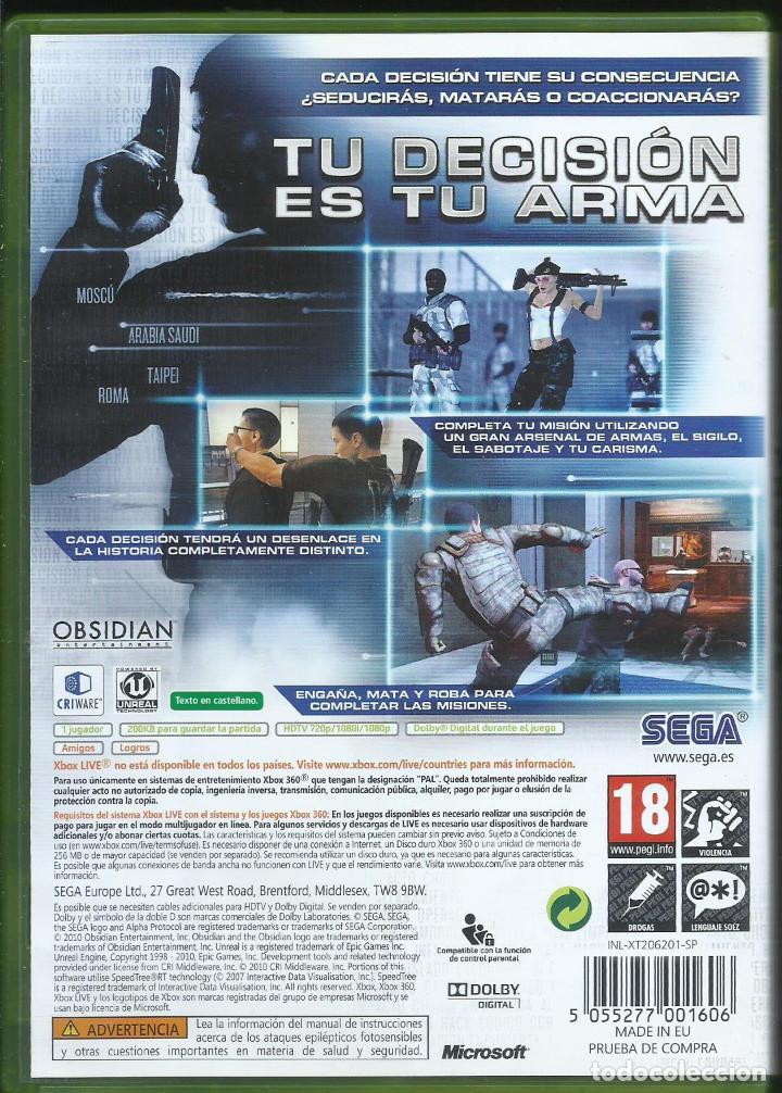 Videojuegos y Consolas: Alpha Protocol (inlc. manuel en español, idioma ingles con sub. español) - Foto 2 - 205760636