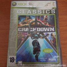 Videojuegos y Consolas: CRACKDOWN XBOX 360 COMPLETO. Lote 205796895