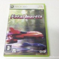 Videojuegos y Consolas: FATAL INERTIA. Lote 205829656