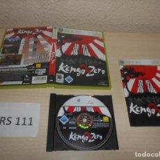 Videojogos e Consolas: XBOX 360 - KENGO ZERO , PAL ESPAÑOL , COMPLETO. Lote 206160846