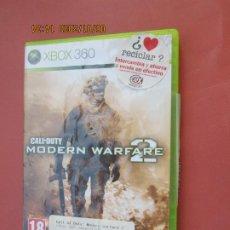 Videojuegos y Consolas: JUEGO CALL OF DUTY MODERN WARFARE 2 - XBOX 360 .. Lote 206862200