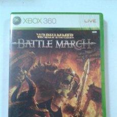 Videojuegos y Consolas: WARHAMMER BATTLE MARCH. XBOX 360. Lote 206888785