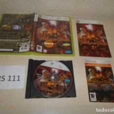 Videojuegos y Consolas: XBOX360 - KINGDOM UNDER FIRE - CIRCLE OF DOOM , PAL ESPAÑOL , COMPLETO. Lote 206926163