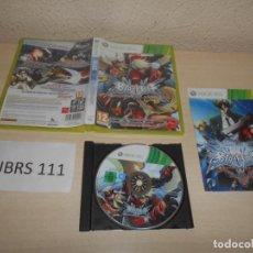 Videojuegos y Consolas: XBOX360 - BLAZBLUE CONTINUUM SHIFT , PAL ESPAÑOL , COMPLETO. Lote 206926605