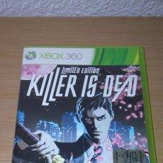 Videojuegos y Consolas: XBOX KILLER IS DEAD LIMITED EDITION COMPLETO PAL ITA. Lote 206963363