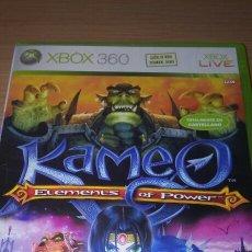 Videojuegos y Consolas: KAMEO ELEMENTS OF POWER XBOX 360 COMPLETO PAL ESP. Lote 206984278