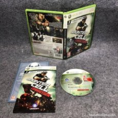 Videojuegos y Consolas: SPLINTER CELL CONVICTION MICROSOFT XBOX 360. Lote 207086502