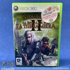 Videojuegos y Consolas: VIDEOJUEGO XBOX 360 - EL SEÑOR DE LOS ANILLOS II LA BATALLA POR LA TIERRA MEDIA + CAJA + INSTRUCCION. Lote 207529815