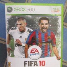 Videojuegos y Consolas: FIFA 10 XBOX 360 EA SPORTS. Lote 209356548