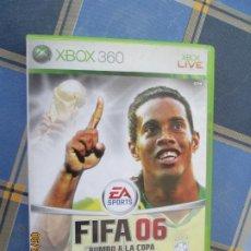 Videojuegos y Consolas: FIFA O6 , RUMBO A LA COPA MUNDIAL DE LA FIFA -XBOX 360. Lote 209356876