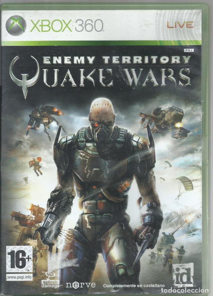 ENEMY TERRITORY: QUAKE WARS (CONTIENE MANUAL) (Juguetes - Videojuegos y Consolas - Microsoft - Xbox 360)
