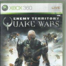 Videojuegos y Consolas: ENEMY TERRITORY: QUAKE WARS (CONTIENE MANUAL). Lote 210089986