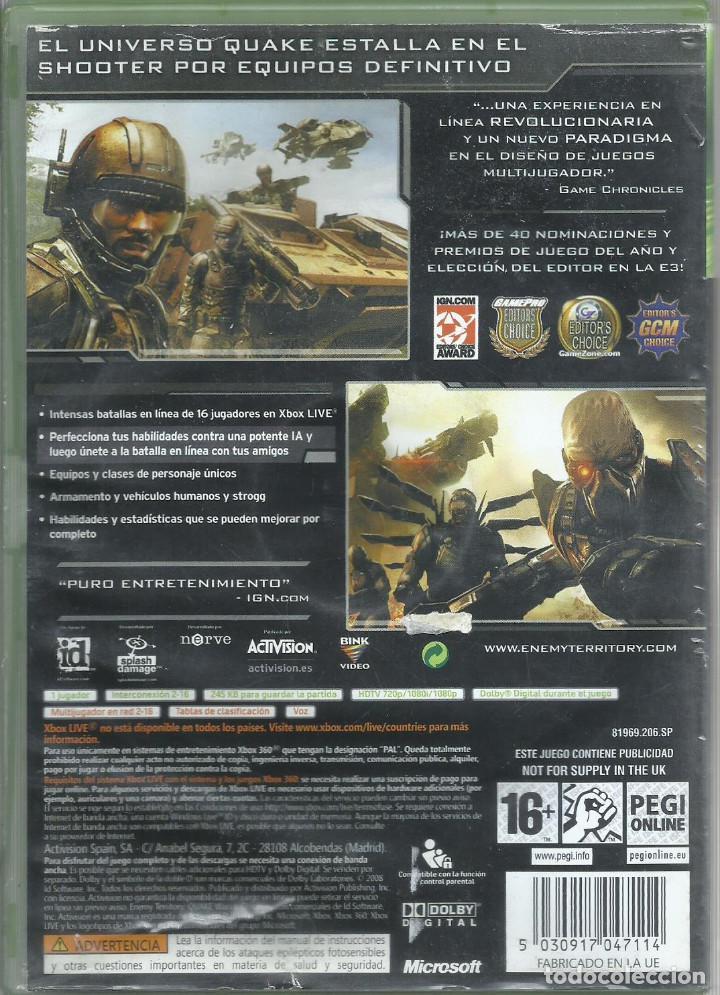 Videojuegos y Consolas: Enemy Territory: Quake Wars (contiene manual) - Foto 2 - 210089986