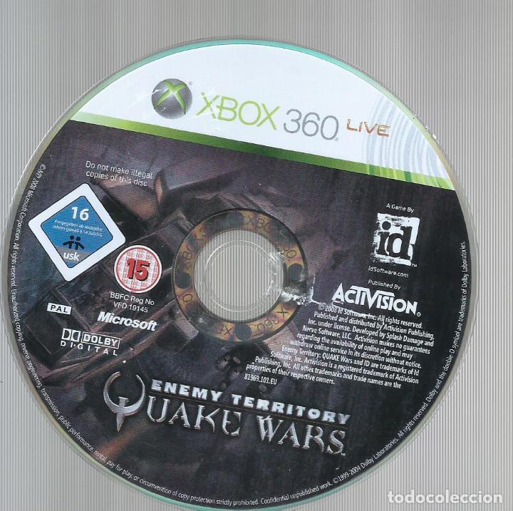 Videojuegos y Consolas: Enemy Territory: Quake Wars (contiene manual) - Foto 3 - 210089986