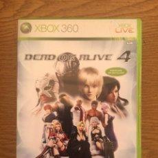 Videojuegos y Consolas: DEAD OR ALIVE 4 XBOX 360. Lote 210665627