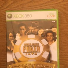 Videojuegos y Consolas: WORLD SERIES POKER. TOURNAMENT OF CHAMPIONS 2007 EDITION. XBOX 360. Lote 210665712