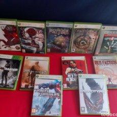 Videojuegos y Consolas: LOTE 11 JUEGOS DE XBOX 360 TODOS CON LIBROS .VER FOTOS. Lote 210753299
