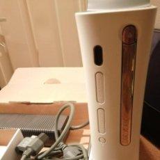 Videojuegos y Consolas: XBOX 360 BLANCA + MANDO + 5 JUEGOS. Lote 211400466