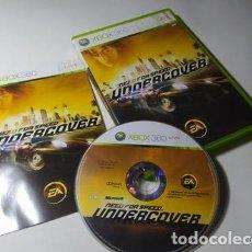 Videojuegos y Consolas: NEED FOR SPEED UNDERCOVER ( XBOX 360 - PAL - ESPAÑA). Lote 211870035