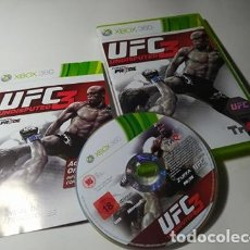 Videojuegos y Consolas: UFC UNDISPUTED 3 ( XBOX 360 - PAL - ESPAÑA). Lote 211870198