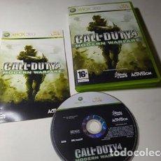 Videojuegos y Consolas: CALL OF DUTY 4 MODERN WARFARE ( XBOX 360 - PAL - ESPAÑA). Lote 211870453