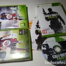 Videojuegos y Consolas: CALL OF DUTY MODERN WARFARE 3 + 2 REGALOS ( MUY RAYADOS .. POR ESO REGALO ( XBOX 360 - PAL - ESPAÑA). Lote 211870987