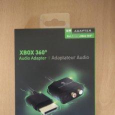 Videojuegos y Consolas: ADAPTADOR DE AUDIO XBOX 360. Lote 211965310