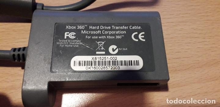 Videojuegos y Consolas: 08-00362 - cable xbox 360 drive transfer - Foto 2 - 212304947