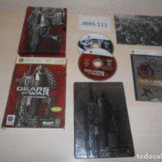 Videojuegos y Consolas: XBOX 360 - GEARS OF WAR 2 EDICION COLECIONISTA , PAL ESPAÑOL , COMPLETO. Lote 212408465