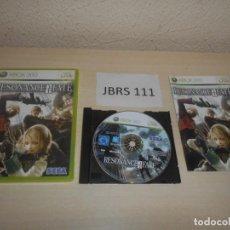 Videojuegos y Consolas: XBOX 360 - RESONANCE OF FATE , PAL ESPAÑOL , COMPLETO. Lote 212408557