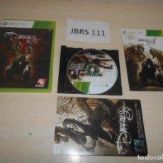 Videojuegos y Consolas: XBOX - THE DARKNESS II EDICION LIMITADA , PAL ESPAÑOL , COMPLETO. Lote 212408731