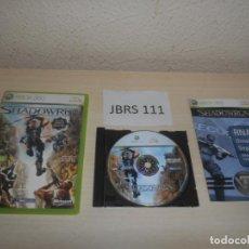 Videojuegos y Consolas: XBOX 360 - SHADOWRUN , PAL ESPAÑOL , COMPLETO. Lote 212409307