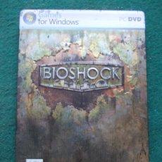 Videojuegos y Consolas: BIOSHOCK CAJA METALICA XBOX360. Lote 212500895