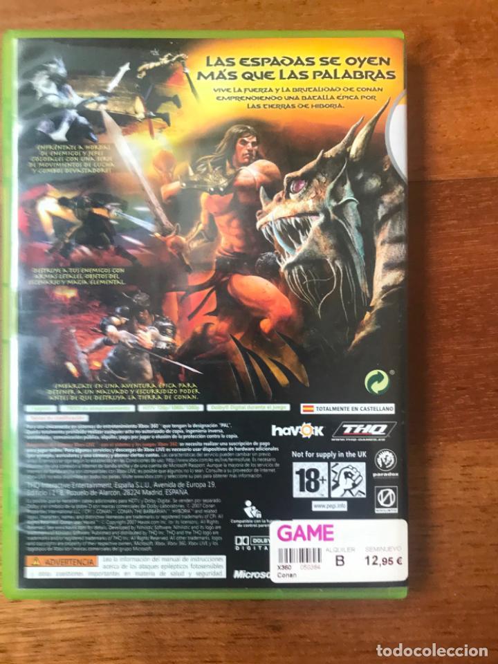 Videojuegos y Consolas: CONAN XBOX 360 VIDEO JUEGO XBOX CON LIBRO - Foto 2 - 212614026