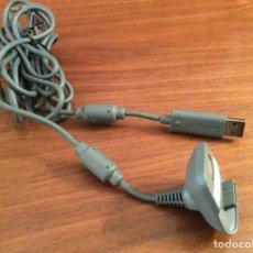 Videojuegos y Consolas: CABLE CARGADOR USB PARA MANDO INHALÁMBRICO DE MICROSOFT XBOX 360 OFICIAL MICROSOFT. Lote 213070943