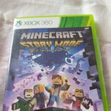 Videojuegos y Consolas: MINECRAFT STORY MODE XBOX 360. Lote 222138255