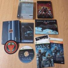 Videojuegos y Consolas: JUEGO XBOX 360 - HALO WARS EDICION COLECCIONISTA - COMPLETO - PAL ESPAÑA. Lote 213987116