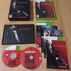 Videojuegos y Consolas: JUEGO XBOX 360 - HITMAN ABSOLUTION PROFESSIONAL EDITION COLECCIONISTA - COMPLETO - PAL ESPAÑA. Lote 213987228