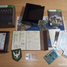 Videojuegos y Consolas: JUEGO XBOX 360 - HALO REACH EDICION ESPECIAL COLECCIONISTA - COMPLETO - PAL ESPAÑA. Lote 214004533