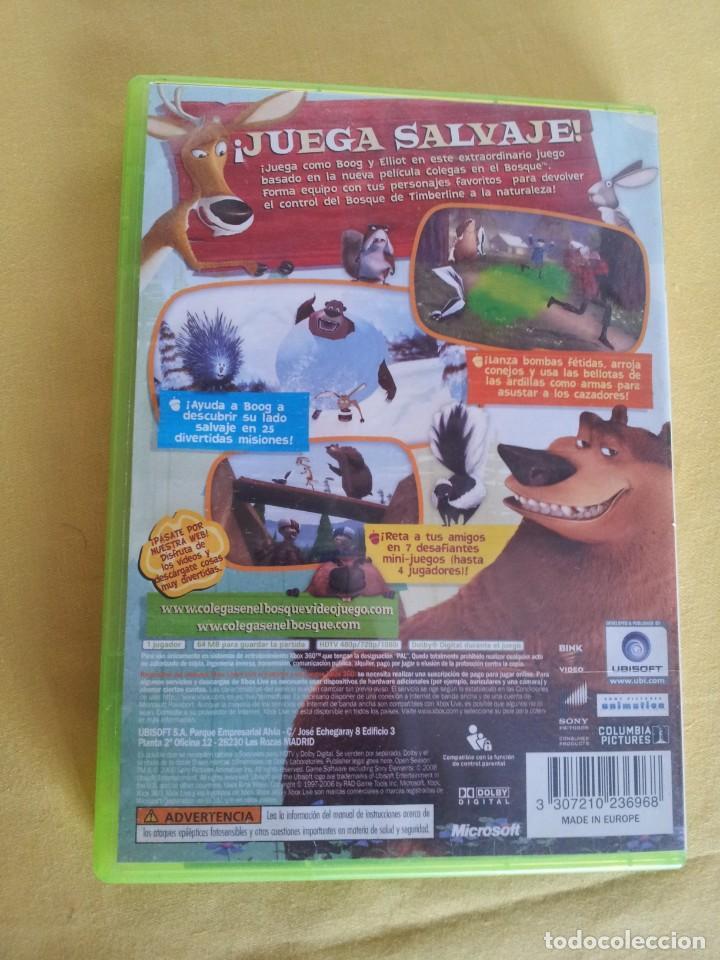 Videojuegos y Consolas: COLEGAS EN EL BOSQUE - XBOX 360 - UBISOFT 2006 - Foto 2 - 215918217