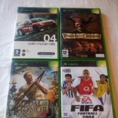 Videojuegos y Consolas: LOTE DE 4 JUEGOS X BOX.. Lote 217162626