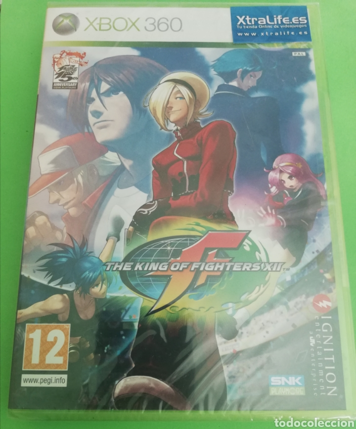 THE KING OF FIGHTERS XII XBOX 360 PRECINTADO, PAL ESPAÑA (Juguetes - Videojuegos y Consolas - Microsoft - Xbox 360)
