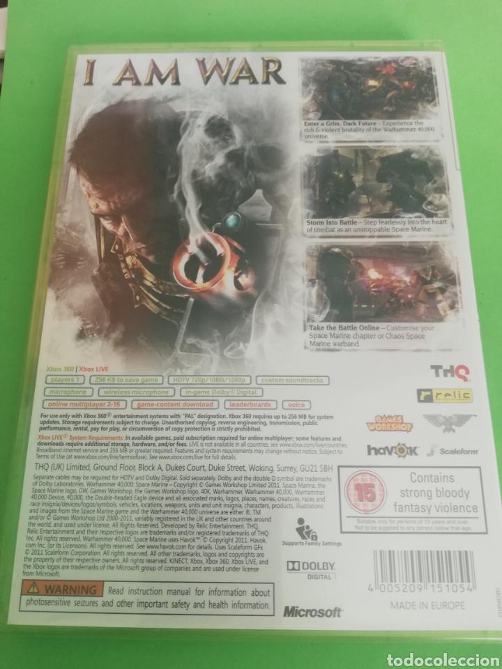 Videojuegos y Consolas: SPACE MARINE XBOX 360 PRECINTADO, UK - Foto 2 - 217206860