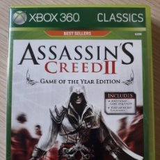Videojuegos y Consolas: ASSASSIN'S CREED II - JUEGO DE XBOX360. Lote 217438056