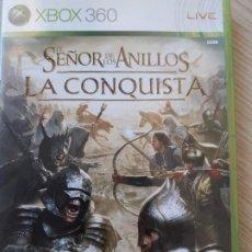 Videojuegos y Consolas: EL SEÑOR DE LOS ANILLOS-LA CONQUISTA - JUEGO DE XBOX360. Lote 217455412