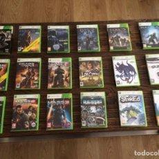 Videojuegos y Consolas: 18 JUEGOS XBOX360 + REGALO. Lote 217863523