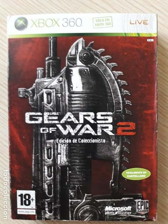 GEARS OF WAR 2 EDICIÓN COLECCIONISTA XBOX 360 (Juguetes - Videojuegos y Consolas - Microsoft - Xbox 360)