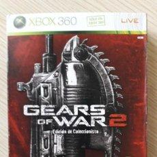 Videojuegos y Consolas: GEARS OF WAR 2 EDICIÓN COLECCIONISTA XBOX 360. Lote 217936832