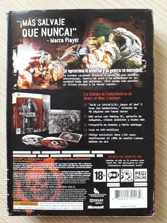 Videojuegos y Consolas: Gears of War 2 Edición Coleccionista XBOX 360 - Foto 2 - 217936832
