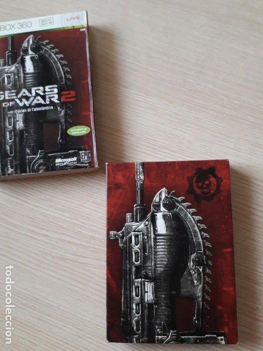 Videojuegos y Consolas: Gears of War 2 Edición Coleccionista XBOX 360 - Foto 3 - 217936832